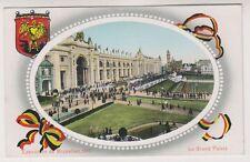 Bruxelles Exhibition 1910 postcard - Le Grand Palais