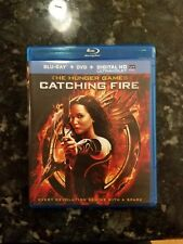 The Hunger Games: Catching Fire (Blu-ray, dvd Disc, 2014, 2-Disc Set