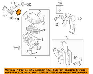 HYUNDAI OEM 11-16 Elantra Air Cleaner Intake-Intake Tube Clamp 1471180006B