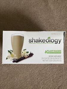 Beachbody Shakeology Vegan vanilla  Pack 24 Pack Box