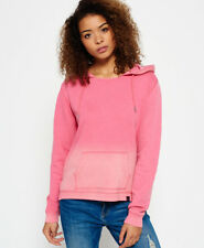 Superdry Beach Open Hood Sweaters S-beach Pink
