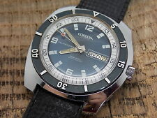 "Vintage Swiss Made Cordura ""Sea - Gull"" Divers Watch Self Winding 17 Jewels"