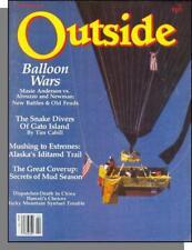 Outside - 1981, February - Balloons Wars, Snake Divers of Gato Island, Iditarod