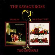 """THE SAVAGE ROSE: """"TRAVELIN' & Your Daily poison"""" (2on1 Package Numérique CD Reissue)"""