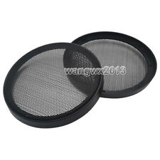 """2PCS 6"""" inch 163mm Speaker Cover Decorative Circle Metal Mesh Grille Protection"""