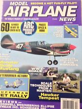 Model Airplane News Magazine Monster Scale Mustang April 1996 081917nonrh