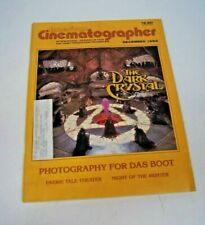 American Cinematographer Magazine Dec 1982 The Dark Crystal Night of the Hunter