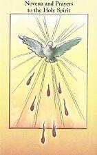 Novena Prayer Book Holy Spirit Full Color Vintage Bonella Art Catholic Booklet