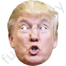 American business magnate Donald Trump Celebrity Card Mask - Masks Are Pre-Cut