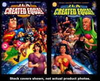 JLA: Created Equal 1 2 DC 2000 Complete Set Run Lot 1-2 VF/NM