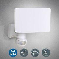 LED Außenleuchte Wandleuchte Bewegungsmelder 20W Hausbeleuchtung Sensor IP44