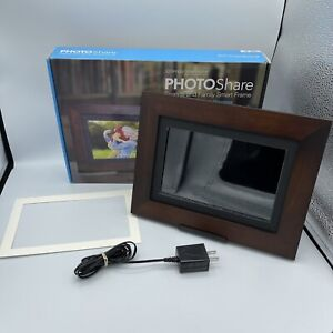 "SimplySmart Home 8"" FHD PhotoShare Friends/Family Smart Frame"