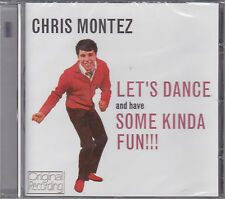 CD 14T CHRIS MONTEZ LET'S DANCE AND HAVE SOME KINDA FUN !! NEUF SCELLE 2013