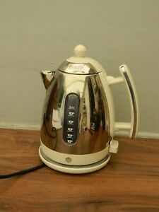 dualit kettle - cream and stainless steel - JKT4