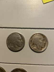 1915 UNITED STATES COPPER NICKEL INDIAN HEAD BUFFALO NICKEL 5 FIVE CENT COIN