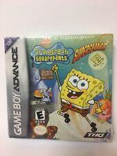 SpongeBob SquarePants: SuperSponge (Nintendo Game Boy Advance, 2001) GBA NEW!