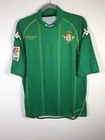 Real Betis FC Kappa 2008-09 Football jersey size M short sleeve good condition