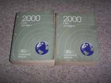 2000 F150 Pickup Truck Shop Service Repair Manual XL XLT Lariat 4.2L 4.6L 5.4L
