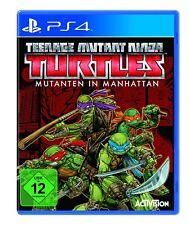 PS4 - Teenage Mutant Ninja Turtles: Mutanten in Manhattan - (NEU & OVP)