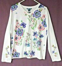 Koret Women's (LG) Shirt w/Pretty Flowers - Long Sleeves - NWOT