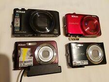 Lot Of 4 Assorted Nikon Coolpix PLEASE READ DESCRIPTIONS