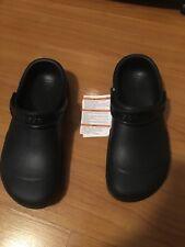 86d577f1c19 Crocs Unisex Clogs Slip Resistant Work Shoes black womens 12 men s 10 new