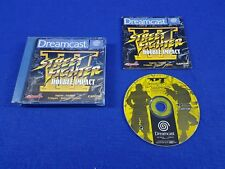 Sega Dreamcast STREET FIGHTER III 3 Double Impact RARE Boxed Complete PAL UK