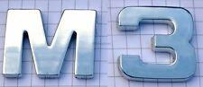M3 Chromzeichen Chrom Emblem Logo Chromlogo 3D Aufkleber Klebeschild für BMW NEU