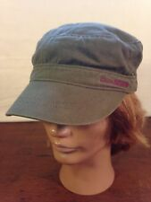 Women's 100% Cotton Eddie Bauer Military Cadet Style Cap Hat (One Size)