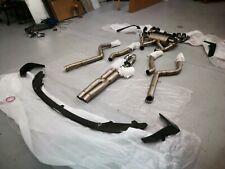 Crank Motorsport BMW M2 competition titanium exhaust