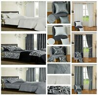 Luxury Paisley Jacquard Duvet Set Quilt Cover Bedding & Pillowcases Double King