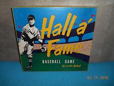 1950's Hall A Fame Baseball Game / By Barrett Game board Co. Evanston, IL  RARE