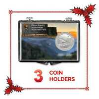 Edgar Marcus Snaplock Silver Eagle Coin Its A Girl Stork New Baby Born Gift Case