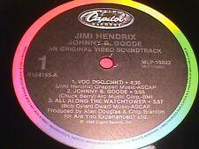 Jimi Hendrix     Johnny B. Goode   video soundtrack   RCA record club pressing