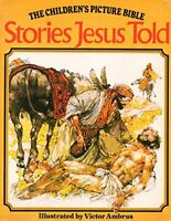 Stories Jesus Told (The Children's picture Bible) Paperback Book The Fast Free