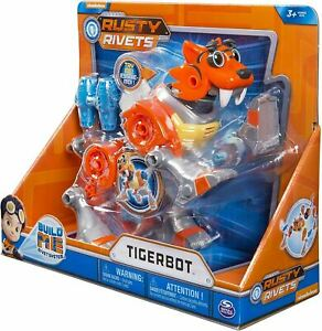 RUSTY RIVETS – Tigerbot Building Set with Lights & Sounds, for Ages 3 & Up
