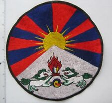Large ASIAN Embroidered  8 inch Jacket Patch