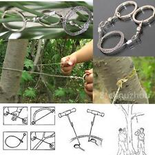Wire Saw Emergency Camping Hunt Survival Steel Ring Army Issue Cutter Tool Kit