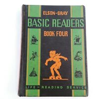 Elson Gray Basic Readers Book Four 1936 Vintage School Book