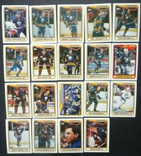 1990-91 Topps Buffalo Sabres Team Set of 19 Hockey Cards
