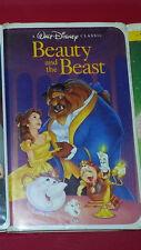 Beauty and The Beast VHS 1992 Walt Disney RARE Diamond Classic