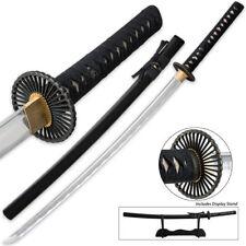 Shinwa Last Samurai Katana Ninja Combat Sword Knife Battle Ready w Stand & Box