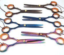 "Hair Cutting Scissor Set 5.5"" Professional Thinning Shears Hairdresser Barber"