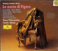 Wolfgang Mozart Le Nozze di Figaro box CD NEW Claudio Abbado Lucio Gallo