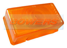 RUBBOLITE / TRUCK-LITE 7546 MODEL M550 AMBER ORANGE SIDE MARKER LAMP LIGHT LENS