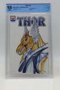 Thor (2020) #16 Peach Momoko Beta Ray Bill Variant CBCS 9.8 Blue Label White Pgs