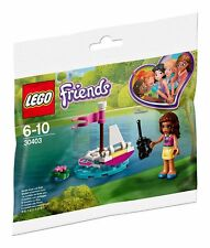 LEGO 30403 OLIVIA'S REMOTE CONTROLLED BOAT NEW SEALED POLYBAG FRIENDS