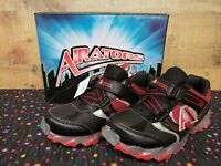 Airators 172100 Raptor Runner Red Lighted Sneakers Junior Boy Shoes Sz:3 NWB