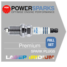 NGK LASER IRIDIUM SPARK PLUGS [x6] BMW X3 2.5 E83 N52 B25A 08/06-> [ILZFR6D11]