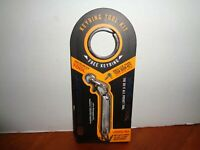 True Utility Micro Tool 6 In 1 Key Chain Tool With Keyring Stainless Steel New
